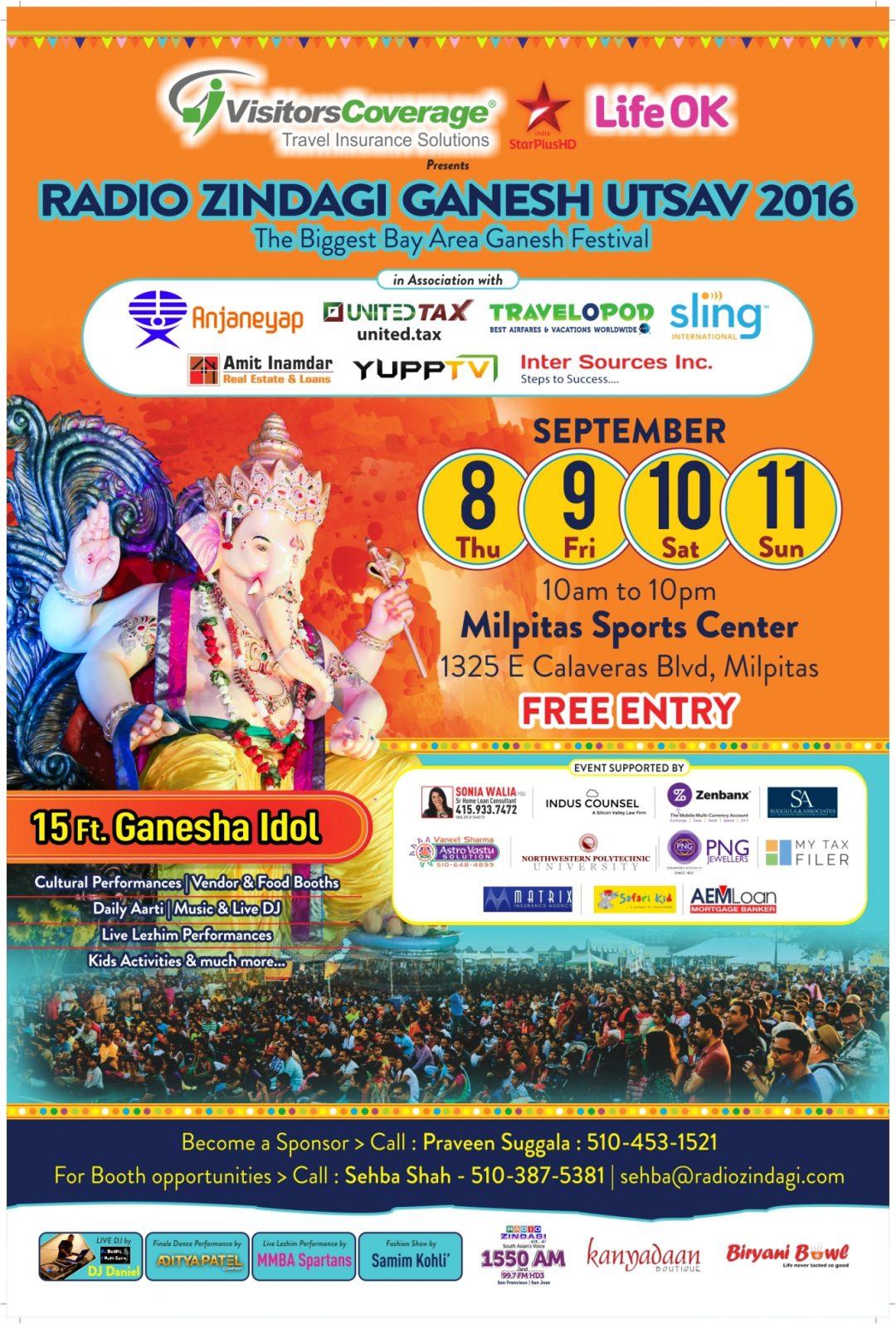 Ganesh Utsav Festival 2016